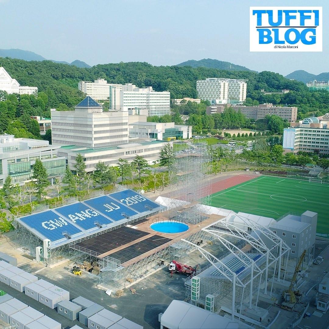 Campionati Mondiali: Gwangju - è il turno delle grandi altezze! Info e programma gare
