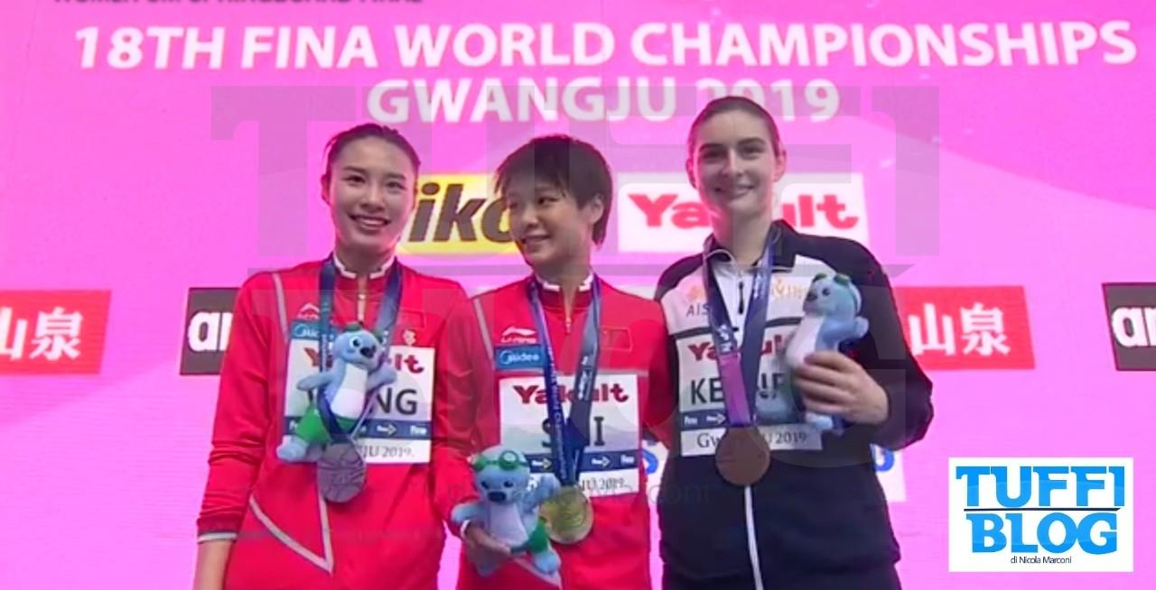 Campionati Mondiali: Gwangju - Keeney lotta con le grandi, ma è ancora doppietta cinese