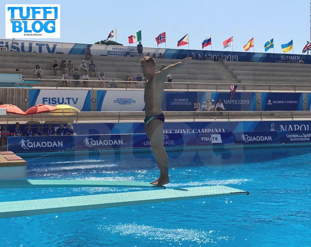 30ª Universiade: Napoli – 1a giornata, i risultati delle prime eliminatorie