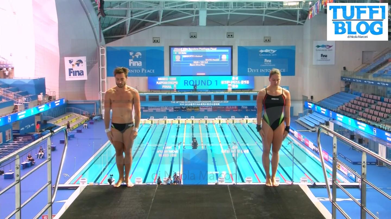 Campionati Mondiali: Gwangju - sesti Batki-Verzotto nel sincro misto, out Tocci-Marsaglia [video]