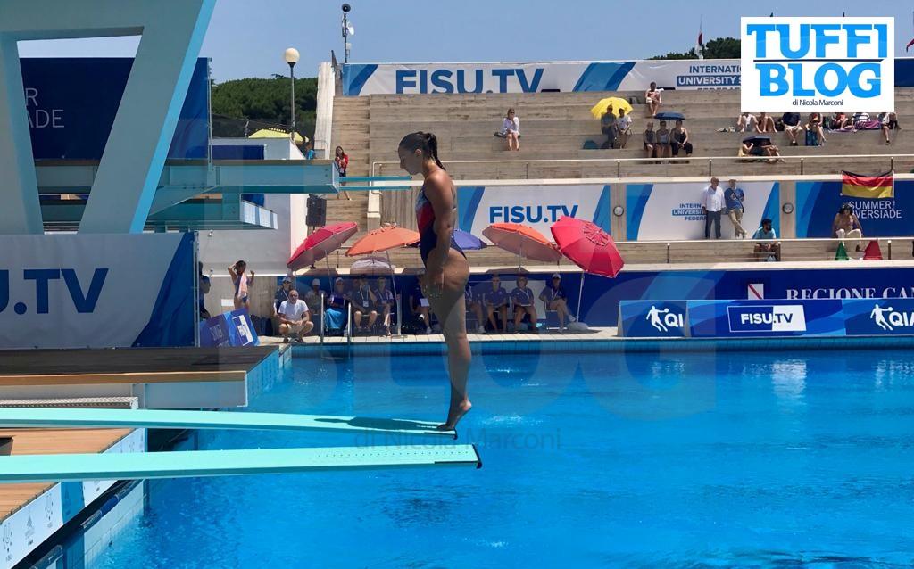 30ª Universiade: Napoli – 2a giornata, Bilotta stop, a 80 centesimi dalla finale!