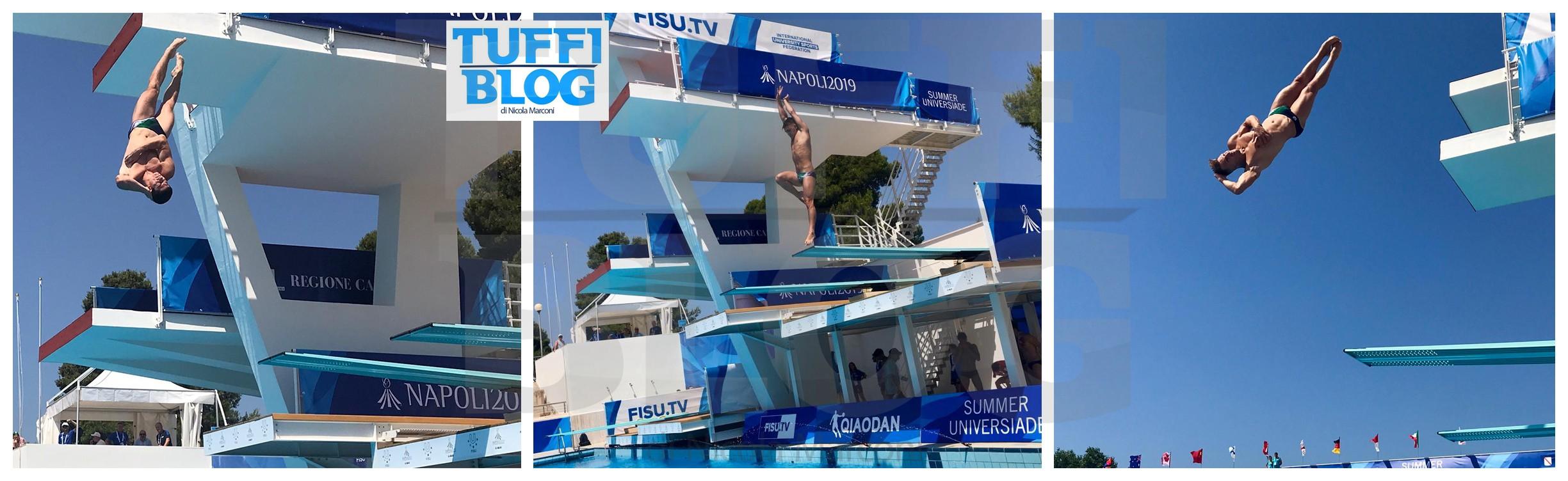 30ª Universiade: Napoli – 2a giornata, Cosoli, Auber e Bilotta passano il turno