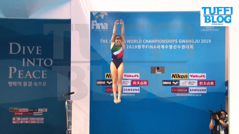 Campionati Mondiali: Gwangju – la Bertocchi settima in finale 1 metro, medaglie storiche per USA e Corea del Sud [video]