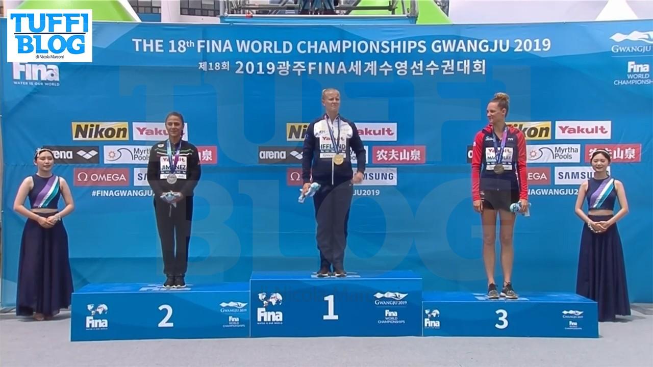 Campionati Mondiali: Gwangju - Iffland campionessa con una rimonta pazzesca! Domani gli uomini, De Rose parte 5°