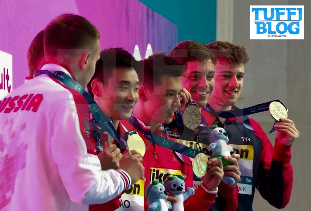Campionati Mondiali: Gwangju – sincro piattaforma stellare, gli ucraini Serbin-Sereda al passo dei grandi
