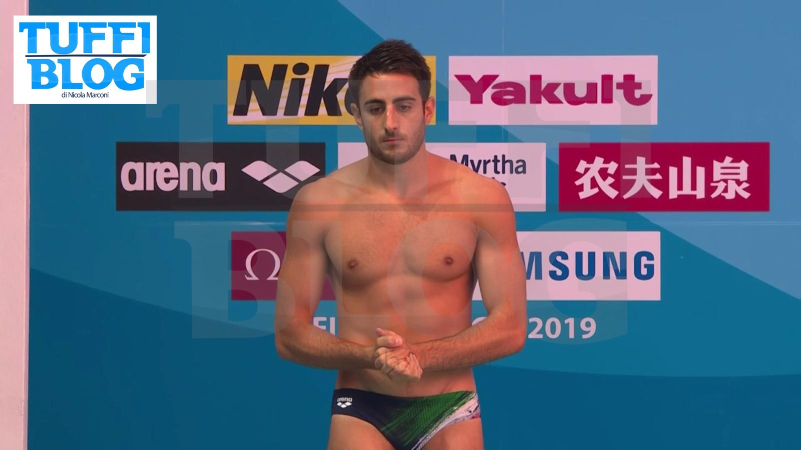 Giovanni Tocci Campionati Mondiali Gwangju 2019