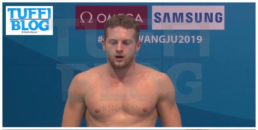 Campionati Mondiali: Gwangju - eliminatoria 3 metri: Marsaglia 23º, Tocci 30º.