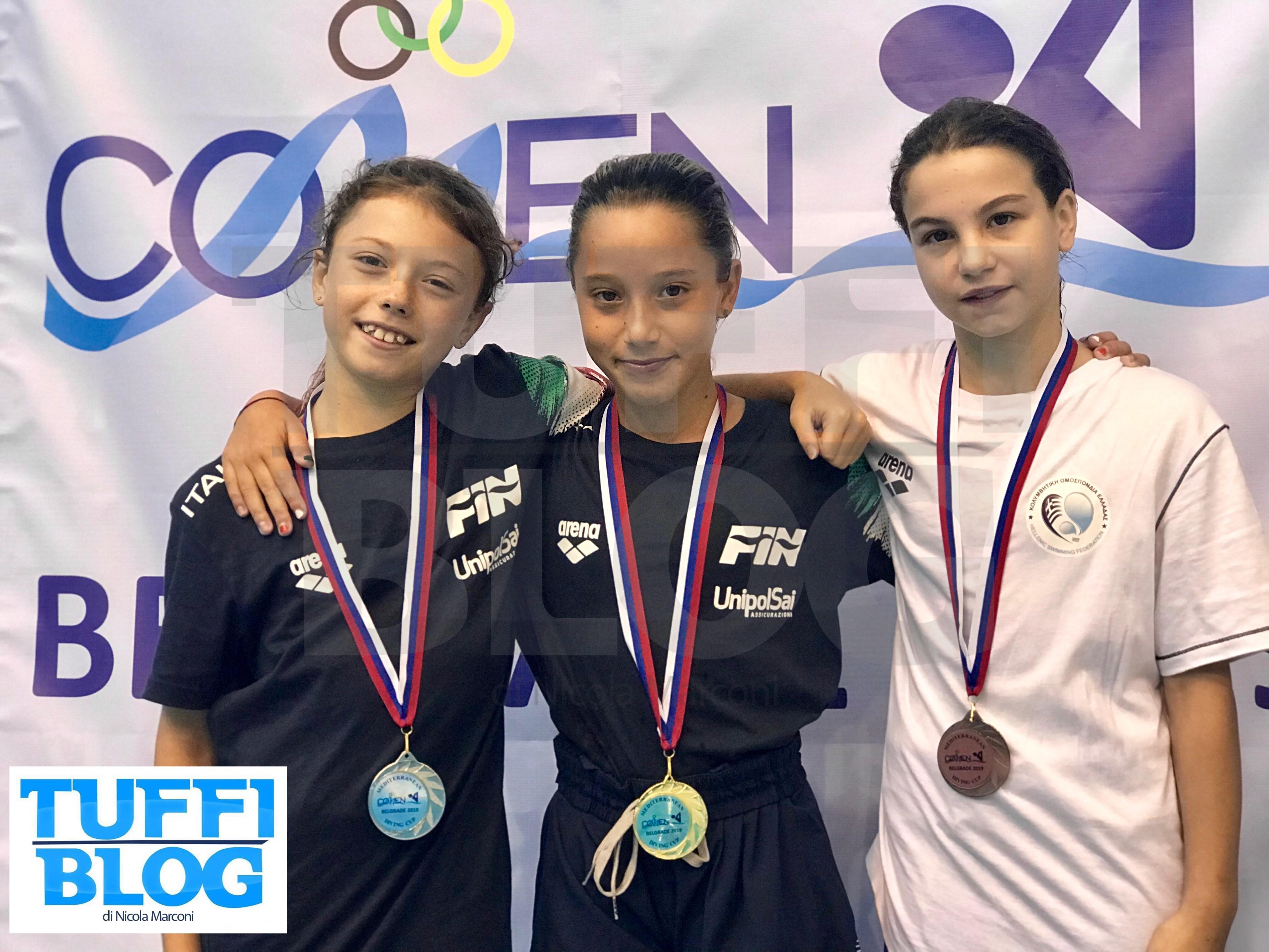 Mediterranean Cup: Belgrado - per l'Italia un venerdì mattina d'oro!