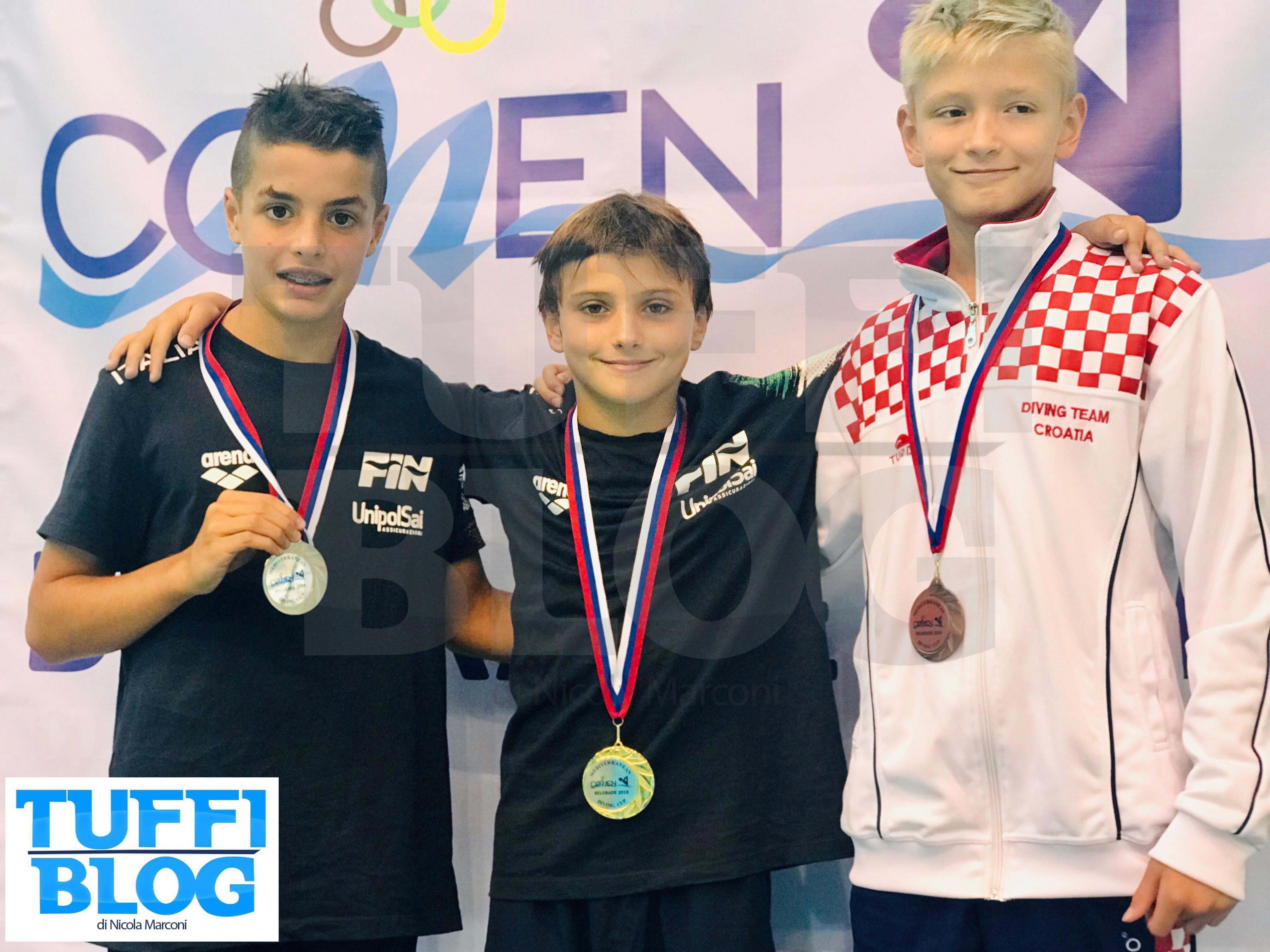 Mediterranean Cup: Belgrado - tris di doppiette per gli azzurrini!