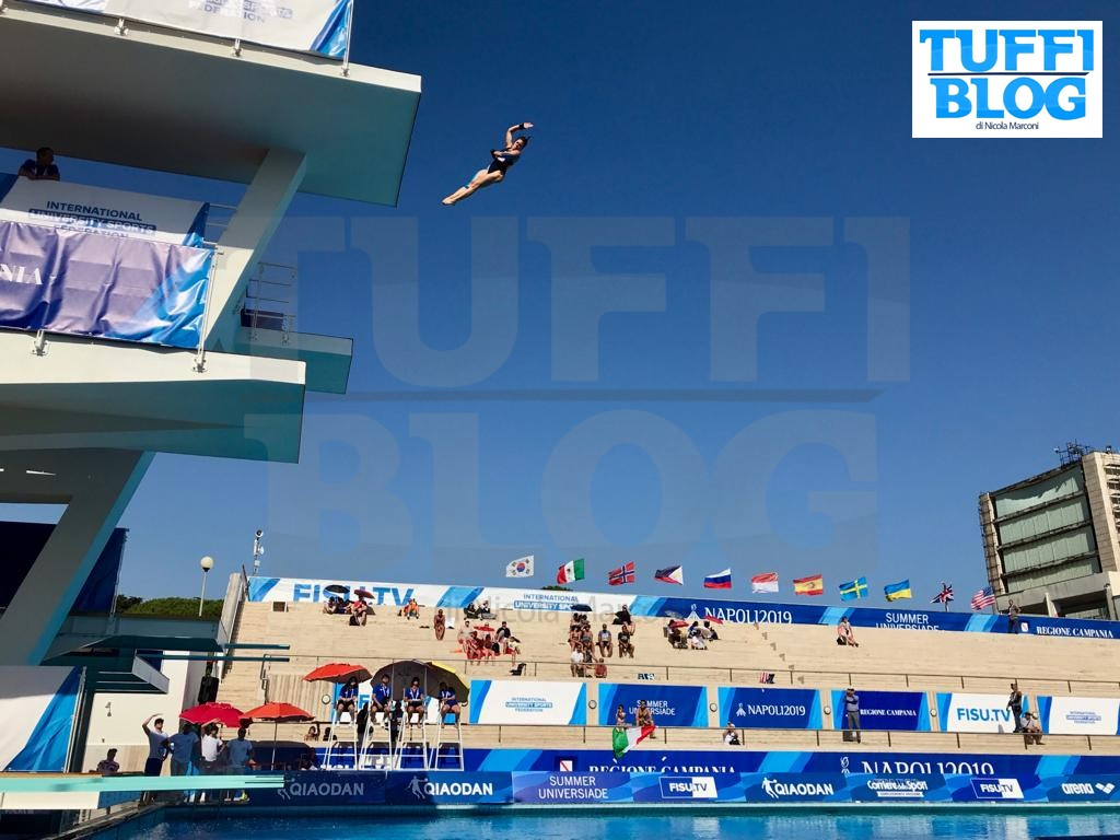 30ª Universiade: Napoli – 1a giornata, Auber è primo, anche Pallotta in finale!