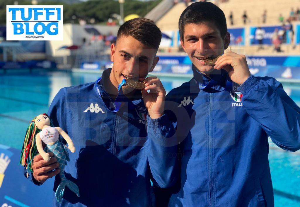 30ª Universiade: Napoli – 5a giornata, Cosoli e Porco bronzo nel sincro! Decima la Bilotta