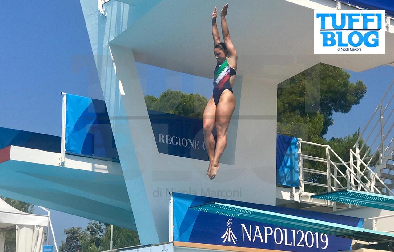 30ª Universiade: Napoli – 5a giornata, Bilotta centra la finale!