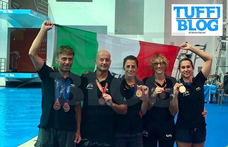 Campionati Mondiali Master: Gwangju – due medaglie d'oro e tre podi!