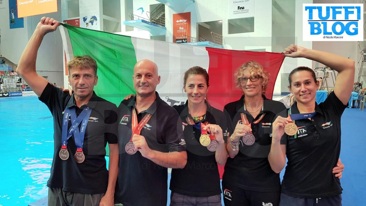 Campionati Mondiali Master: Gwangju – la spedizione italiana chiude con otto ori! [video]