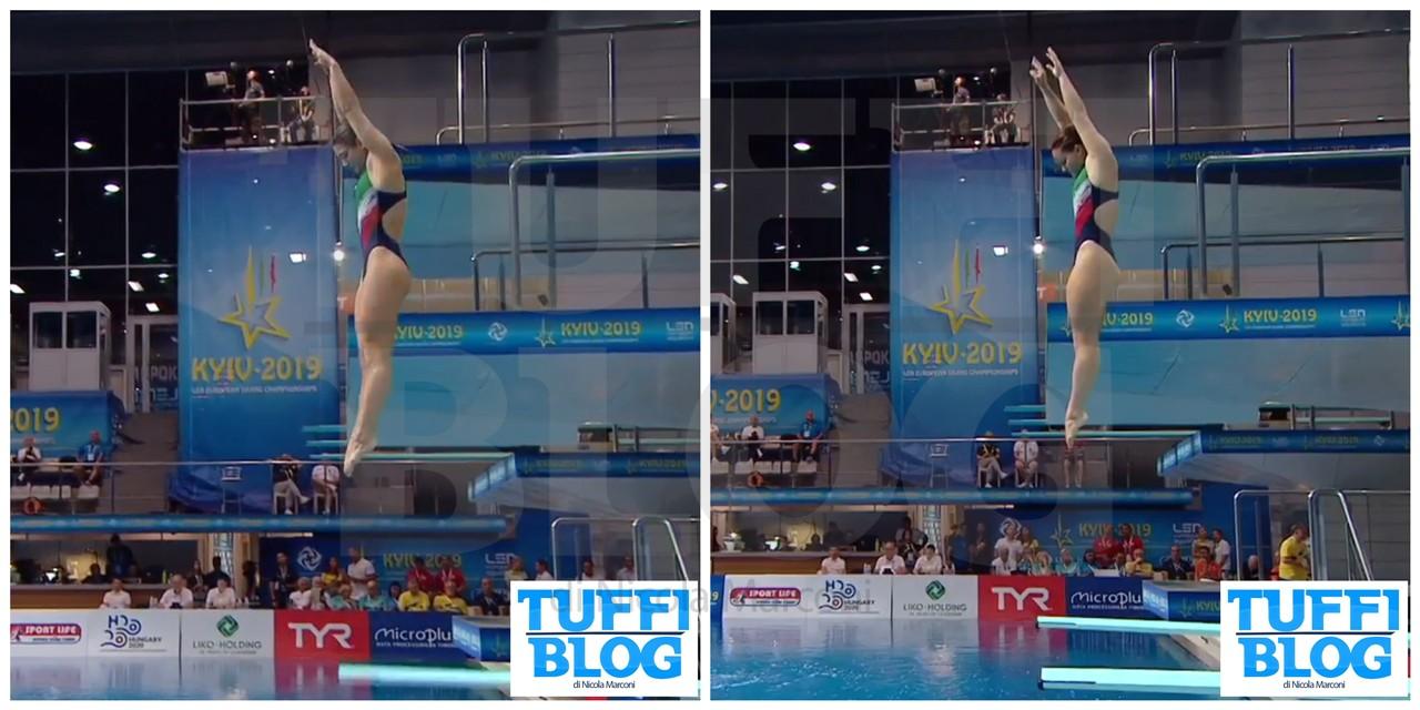 Campionati Europei: Kyiv - Pellacani e Bertocchi in finale da 1 metro