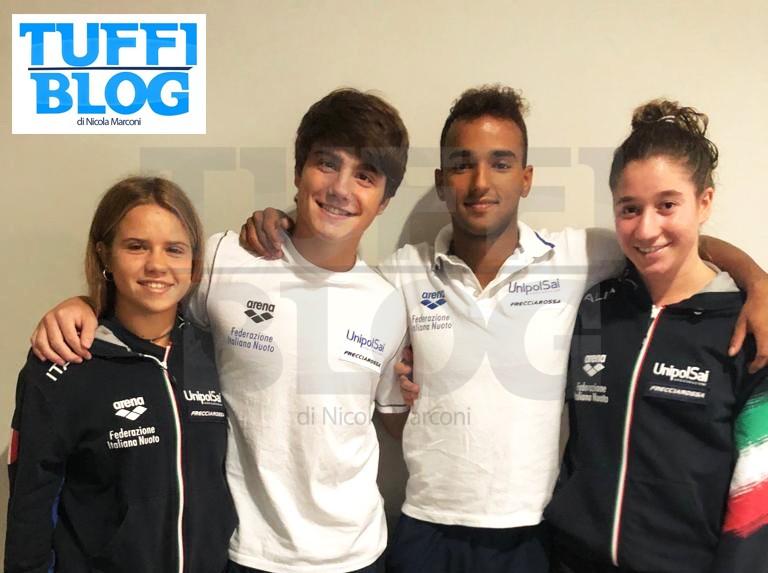 Campionati Europei: Kyiv - settimi gli esordienti azzurri nella prova a squadre