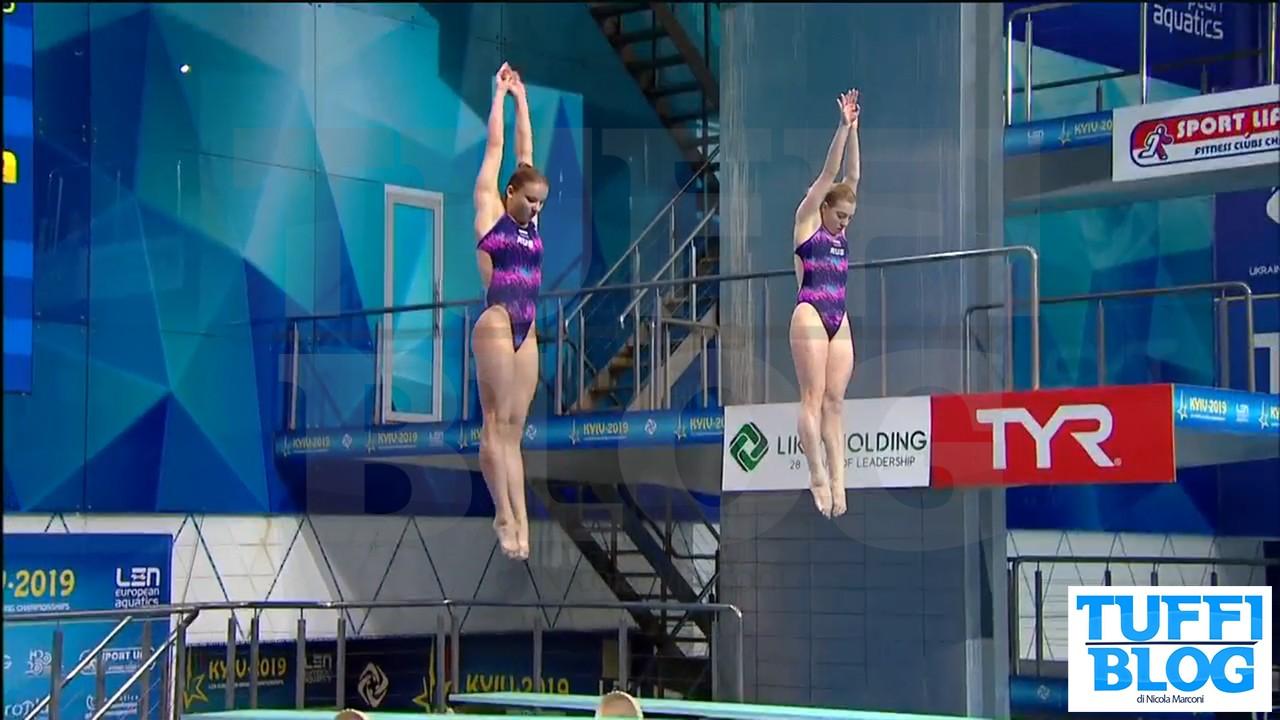 Campionati Europei: Kyiv - Bertocchi non recupera, oro alle juniores russe