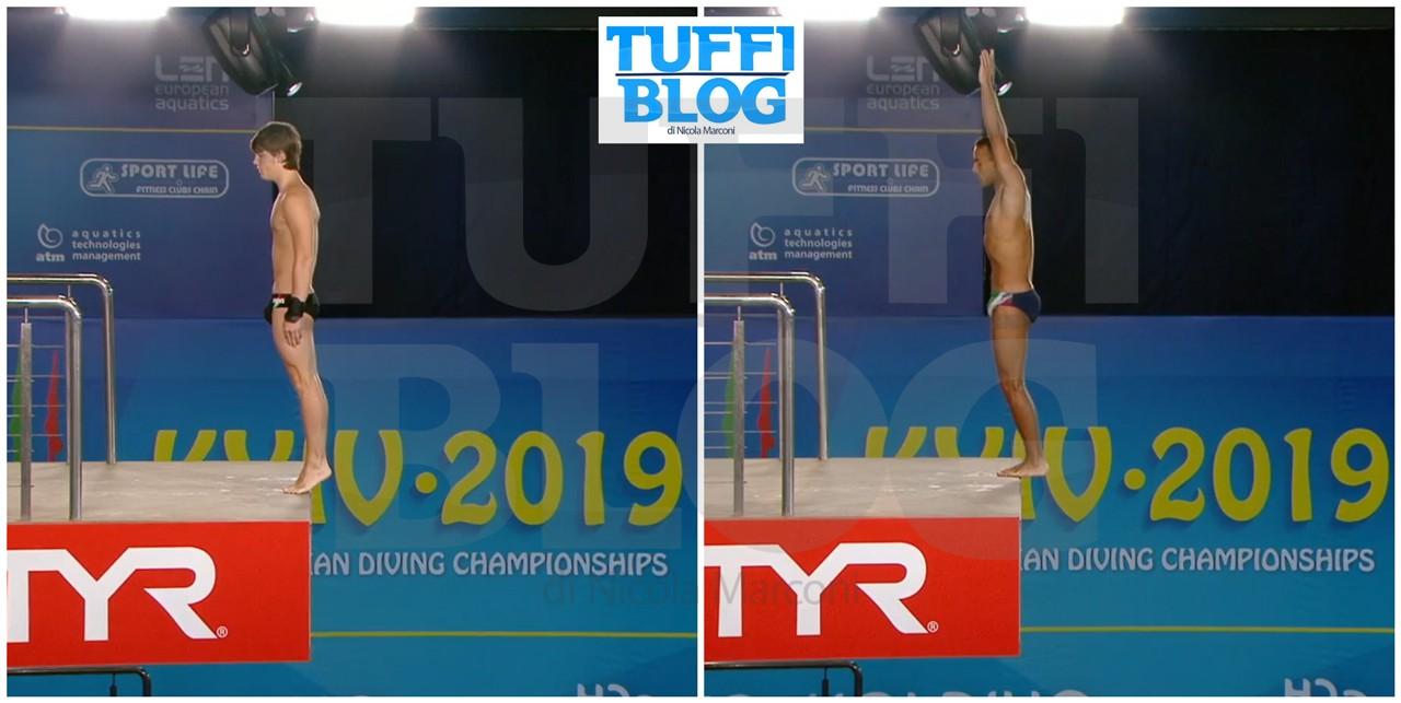 Campionati Europei: Kyiv - eliminatoria piattaforma, Giovannini ottavo, Larsen primo escluso, Sereda in testa