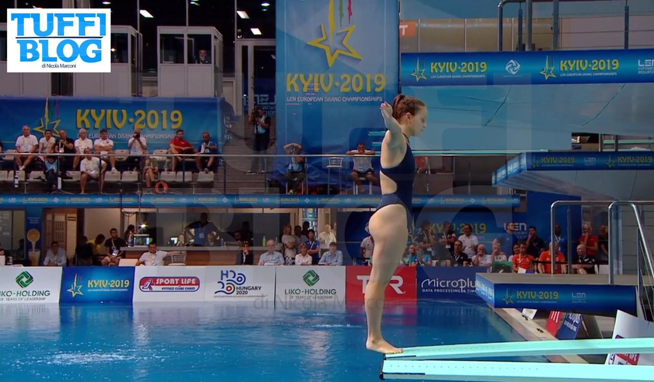 Campionati Europei: Kyiv – Pellacani quinta, Bertocchi ko. Koroleva choc: da ripescata a oro!