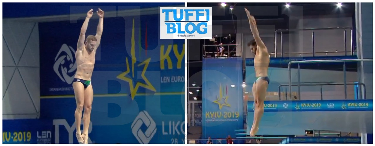 Campionati Europei: Kyiv - eliminatoria 1 metro, Tocci rischia, ma rimonta, Marsaglia primo!