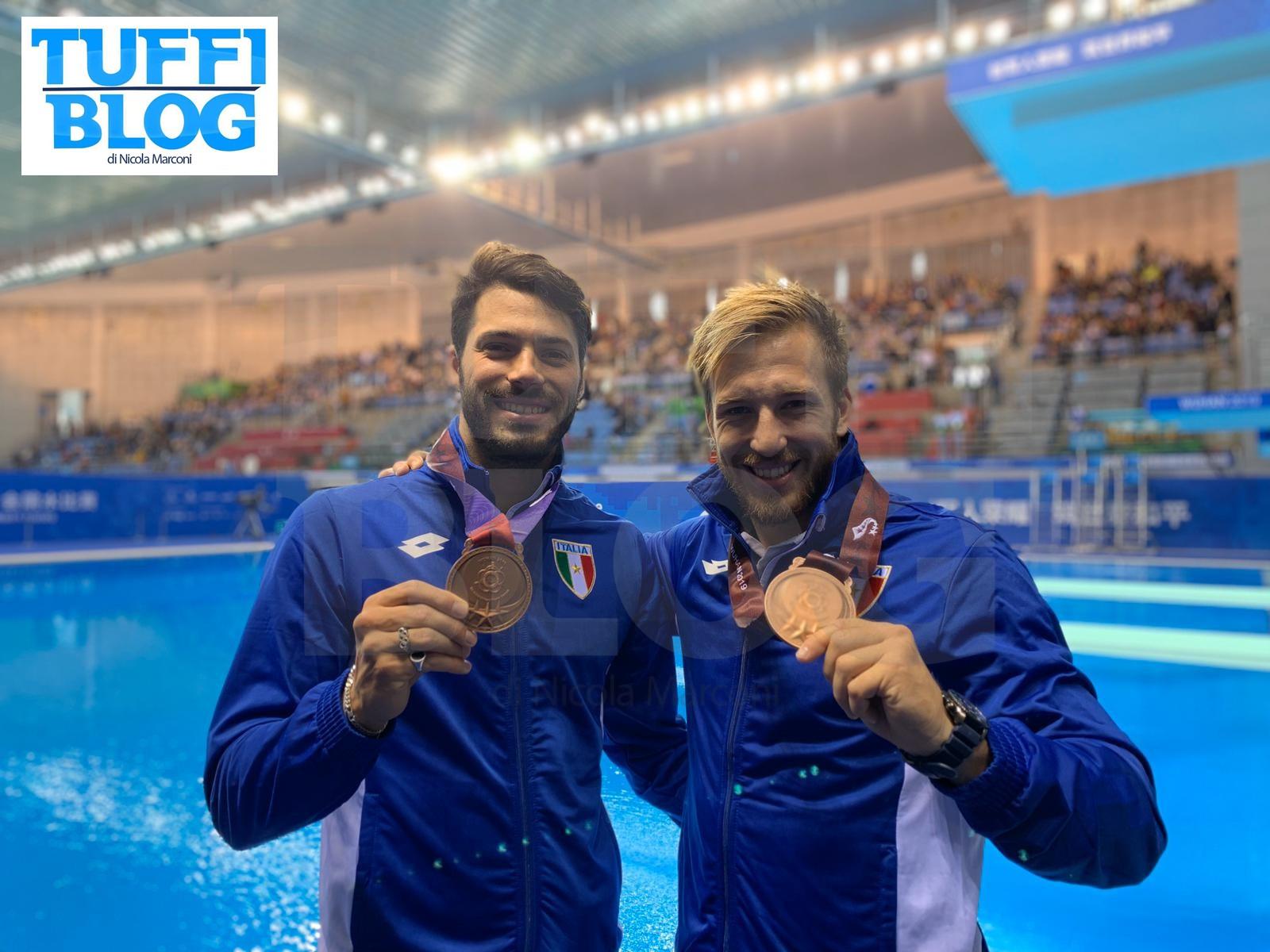 Campionati Mondiali Militari: Wuhan – chiusura col botto, il sincro Rinaldi - Auber è bronzo!
