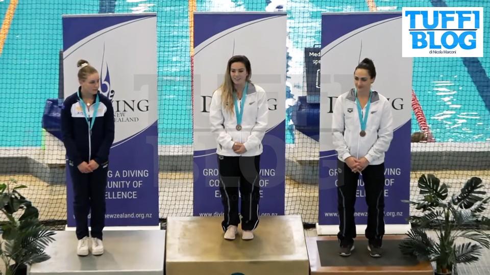 Oceanian Diving Championship: Auckland - foto, video e risultati: tre pass olimpici all'Australia, uno alla Nuova Zelanda
