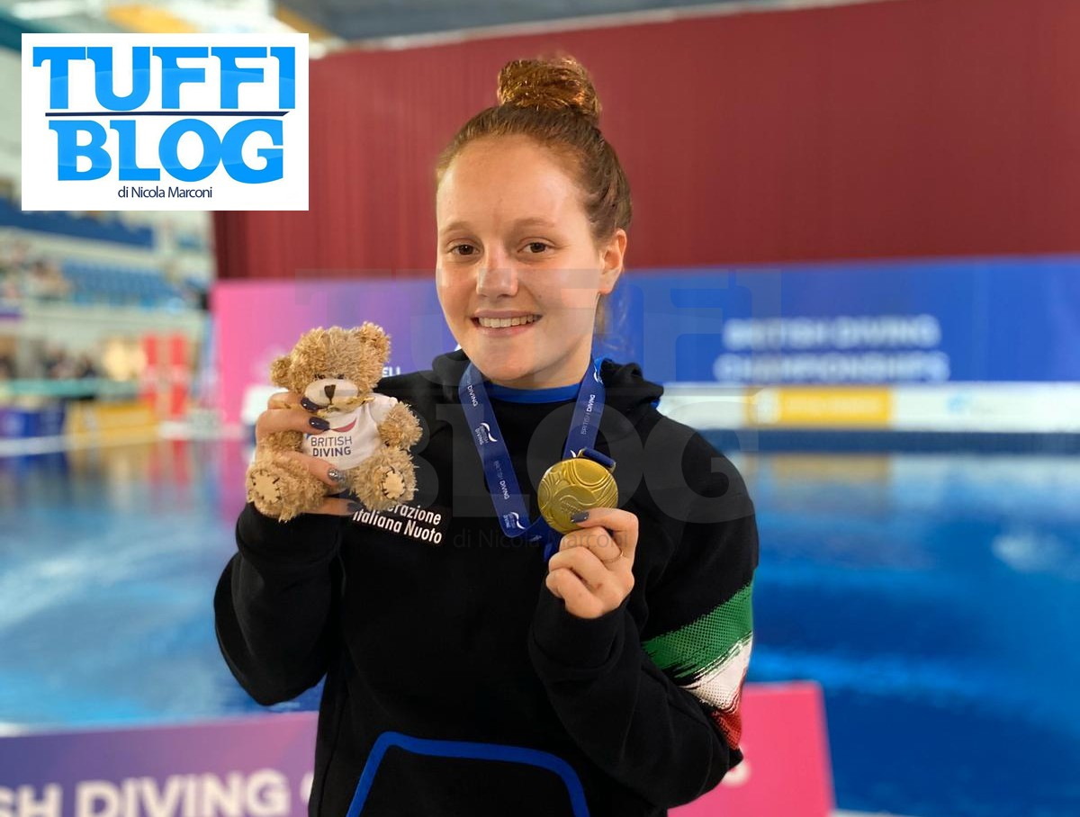 British Diving Championship: Plymouth - secondo oro per la Pellacani, quarto posto per Larsen