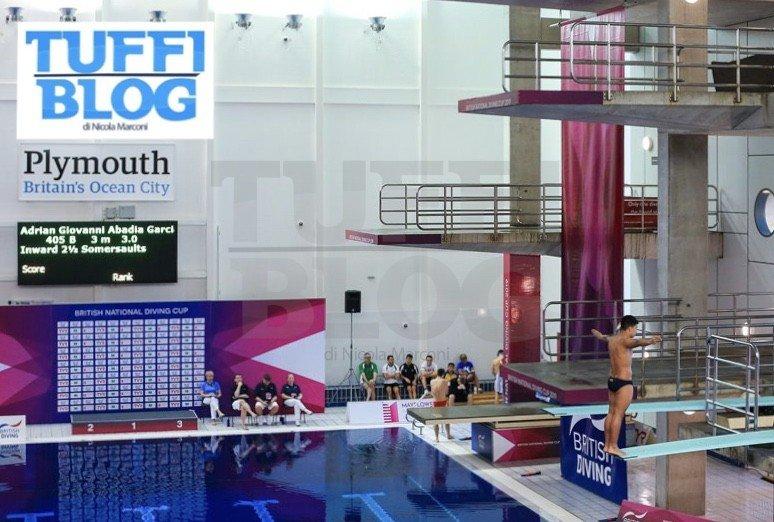 British Diving Championships: Plymouth - la nazionale italiana di tuffi vola in Inghilterra!
