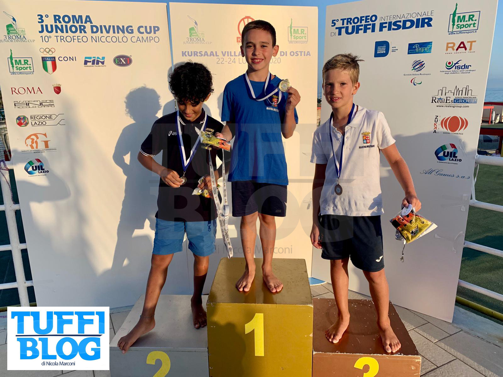 Roma Junior Diving Cup 2020: i risultati della seconda giornata