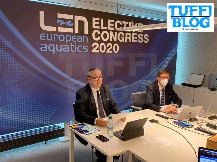 NewSplash: Barelli rieletto a grande maggioranza presidente LEN